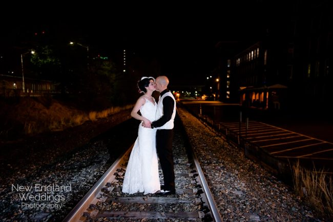 Fratello's Wedding railroad track