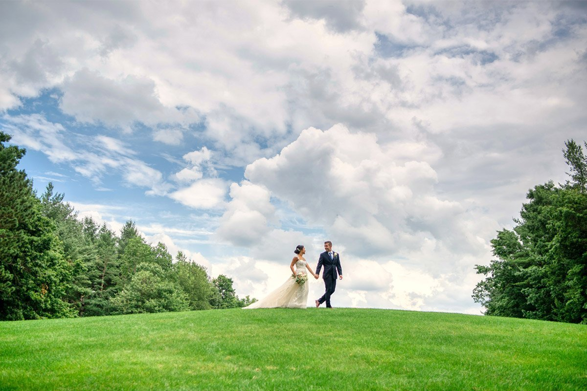 International Golf Course Wedding